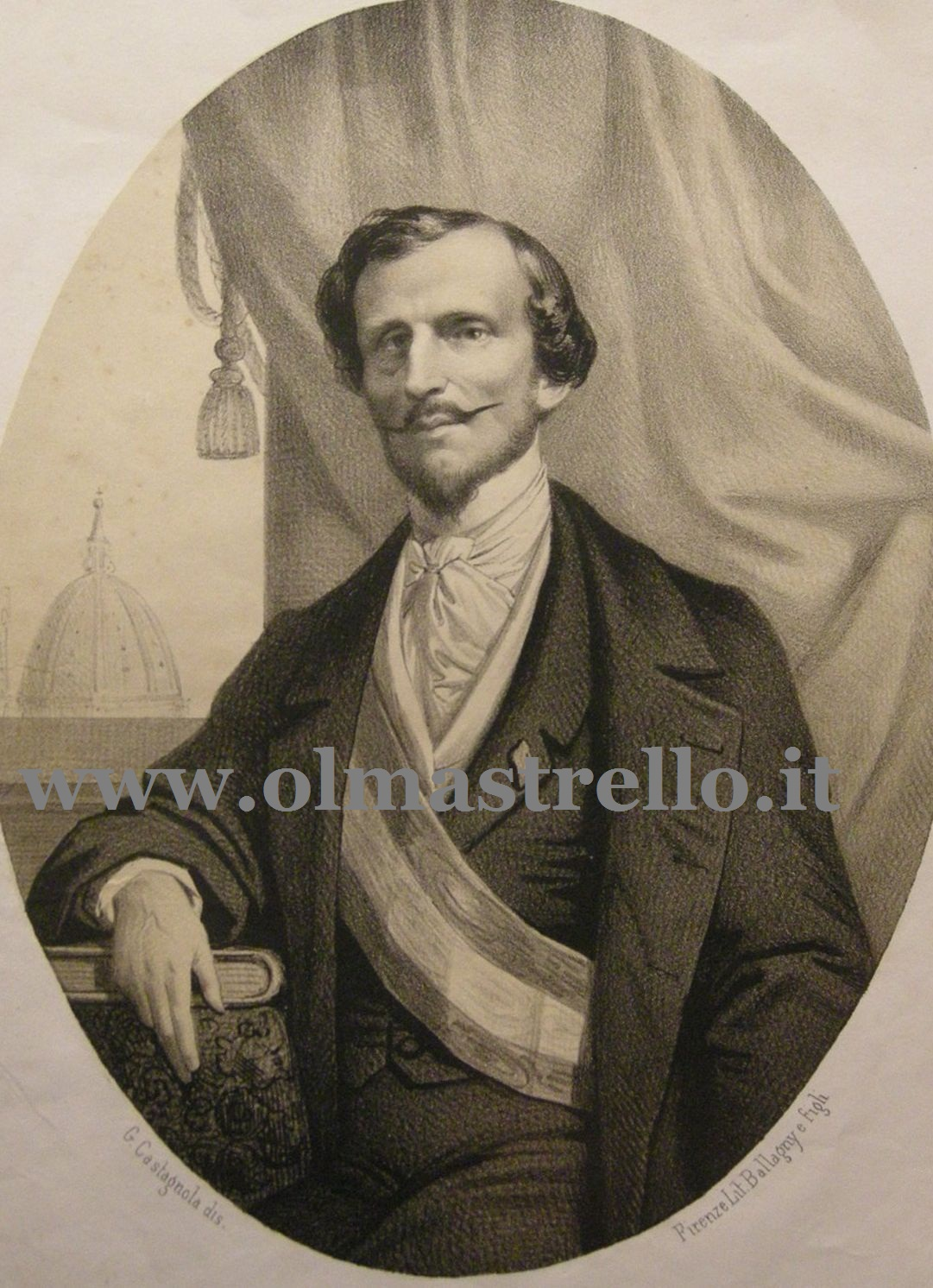 Bettino Ricasoli, il barone di Brolio