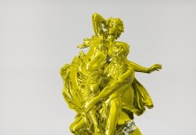 Jeff Koons Pluto and Proserpina, 2010-2013 Acciaio inox lucidato a specchio con rivestimento in colore trasparente e piante fiorite/ mirror-polished stainless steel with transparent color coating and live flowering plants 327.7 x 167 x 143.8 cm / 129 x 65 3/4 x 56 5/8 inches © Jeff Koons Photo: Tom Powel Imaging